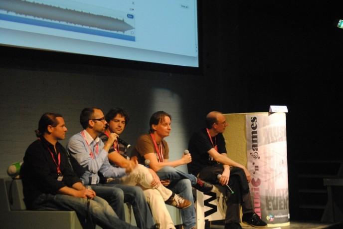 Score it! Panel at Music 'n' Games Rotterdam