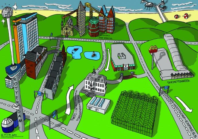 The World According to Pijnacker-Nootdorp