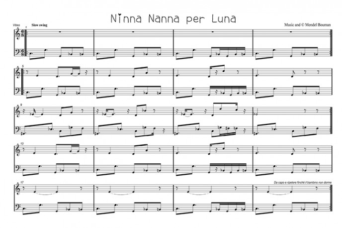 A lullaby for my daughter Maan.