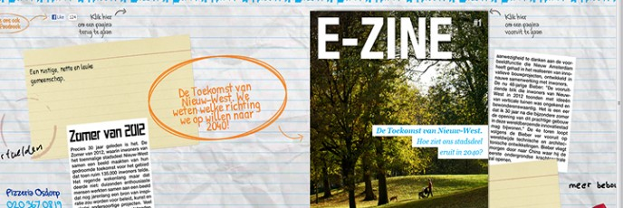The E-zine for the municipality of Amsterdam